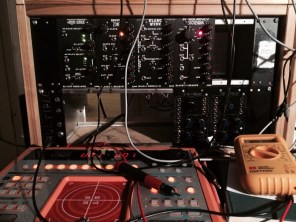 This incomplete box is from when I started and went for Frac rack. I love the Blacet (and Paia) modules, but Im sticking to Eurorack from now on... but no one makes a euro Binary Zone.. if it wasnt for that! Oh and the Roland D2 in front.